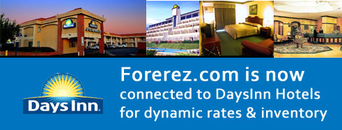 Forerez.com now connected with daysinn property