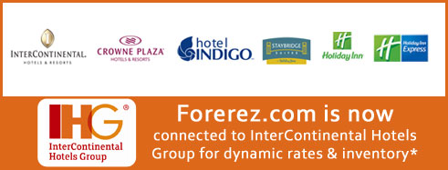 Forerez.com now connected with IHG property